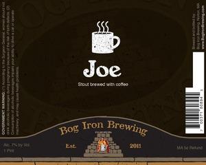 Bog Iron Brewing Joe