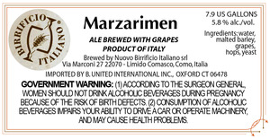 Birrificio Italiano Marzarimen