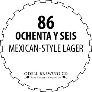 Odell Brewing Company 86 Ochenta Y Seis Mexican-style Lager