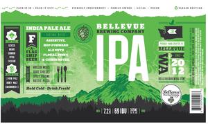 Bellevue Brewing Company Bellevue Brewing IPA