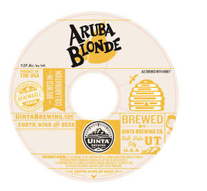 Uinta Brewing Company Aruba Blonde