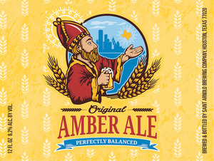 Saint Arnold Brewing Company Amber Ale