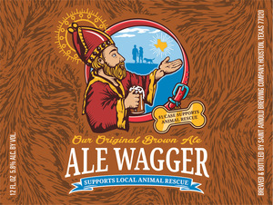 Saint Arnold Brewing Company Ale Wagger