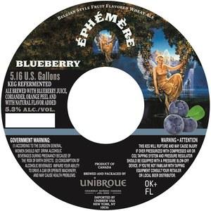 Unibroue ÉphÉmÈre Blueberry