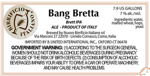 Birrificio Italiano Bang Bretta