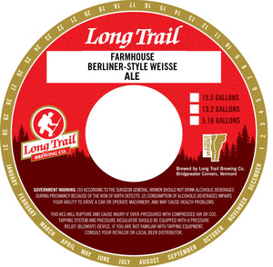 Long Trail Brewing Company Farmhouse Berliner-style Weisse