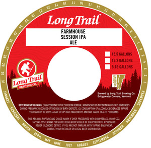Long Trail Brewing Company Farmhouse Session IPA
