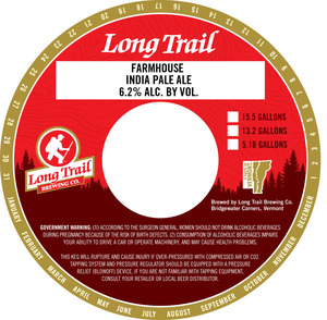 Long Trail Brewing Company Farmhouse India Pale Ale