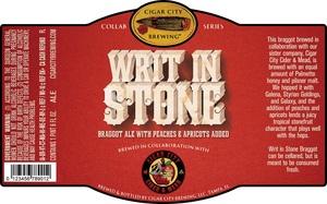 Writ In Stone