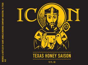 Saint Arnold Brewing Company Icon Texas Honey Saison