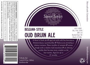 Fort Collins Brewery Belgian-style Oud Bruin