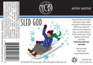 Fort Collins Brewery Sled God