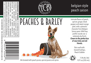 Fort Collins Brewery Peaches & Barley