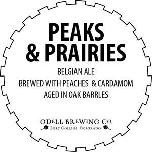 Odell Brewing Company Peaks & Prairies Belgian Ale