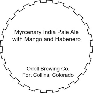 Odell Brewing Company Myrcenary India Pale Ale With Mango And
