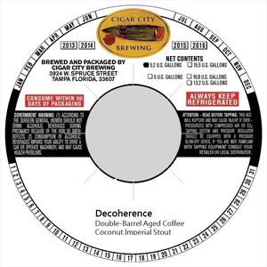 Decoherence April 2016