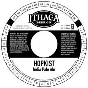 Ithaca Beer Company Hopkist