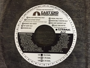 East End Brewing Company Citramac Ale