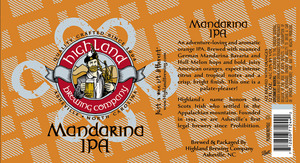 Highland Brewing Co. Mandarina