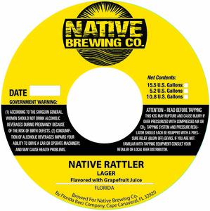 Native Brewing Co. Native Rattler