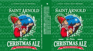 Saint Arnold Brewing Company Christmas Ale