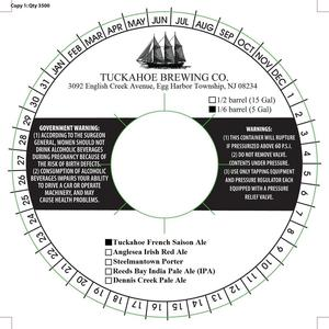 Tuckahoe Brewing Company Tuckahoe French Saison Ale