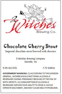 2 Witches Brewing Company Chocolate Cherry Stout