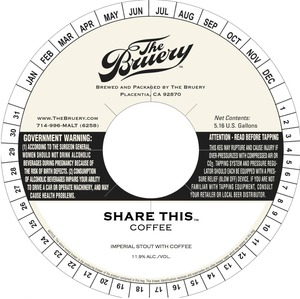 The Bruery Share This (coffee)
