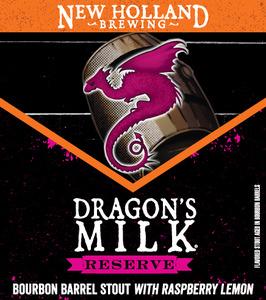 New Holland Brewing Company Dragon's Milk Reserve Raspberry Lemon