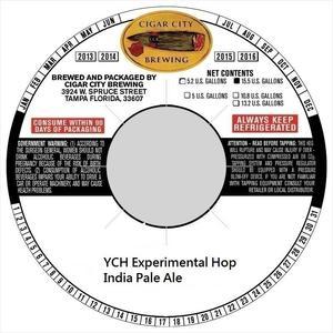 Ych Experimental Hop Ipa