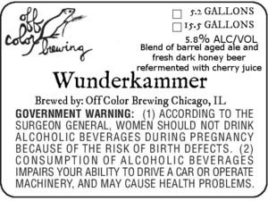 Off Color Brewing Wunderkammer