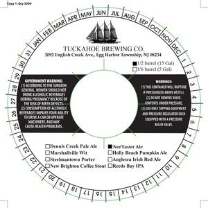 Tuckahoe Brewing Company Nor'easter