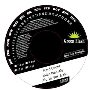 Green Flash Brewing Company Hard Count