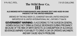 The Wild Beer Co. Iii (no. Three)