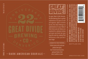 Great Divide Brewing Company 22nd Anniversary May 2016