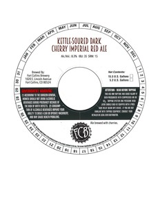 Fort Collins Brewery Kettle-soured Dark Cherry Imperial Red