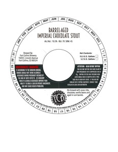 Fort Collins Brewery Barrel-aged Imperial Chocolate Stout