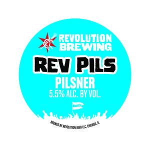 Revolution Brewing Rev Pils