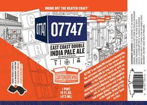 Carton Brewing Co. 07747