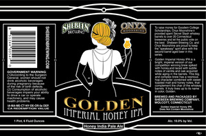 Shebeen Brewing Company Golden Imperial Honey IPA