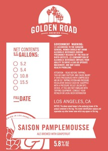 Golden Road Saison Pamplemousse