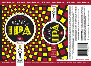 Moab Brewery Session Red Rye IPA