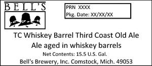 Bell's Tc Whiskey Barrel Third Coast Old