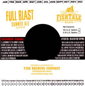 Fish Tale Ales Full Blast Summer Ale