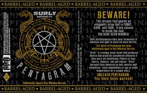 Barrel-aged Pentagram
