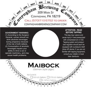 Conyngham Brewing Company Maibock