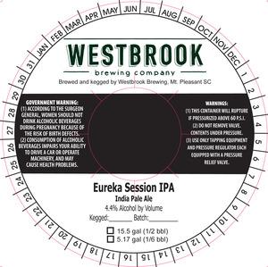 Westbrook Brewing Company Eureka Session IPA