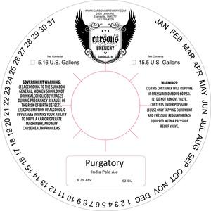 Carson's Brewery Purgatory