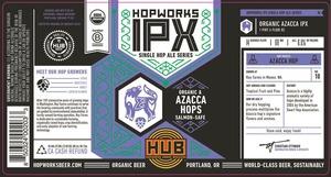 Hopworks Urban Brewery Ipx-azacca