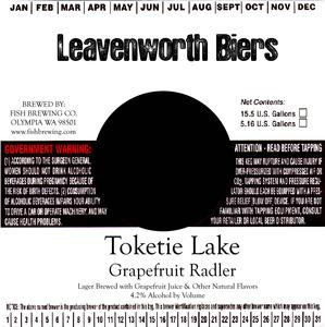 Leavenworth Biers Toketie Lake Grapefruit Radler